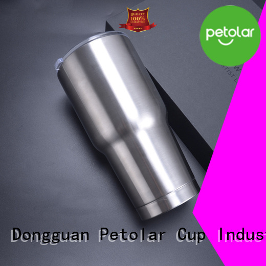 Petolar Latest stainless steel water tumbler factory for travel