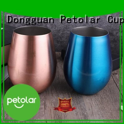 Petolar stainless steel travel mug factory for sport