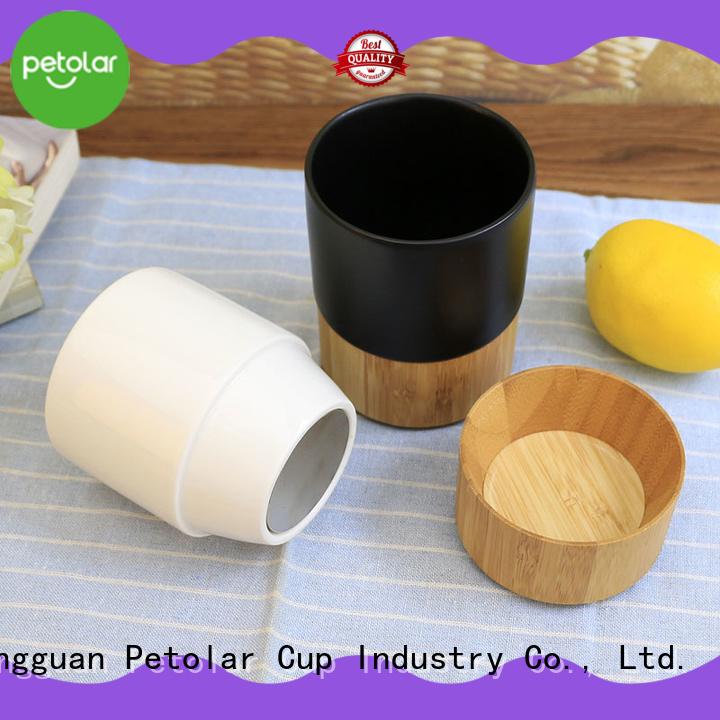 Petolar ceramic mug manufacturers for safety