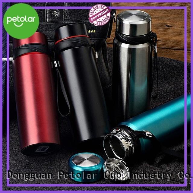 stainless steel water bottle cap & water flask