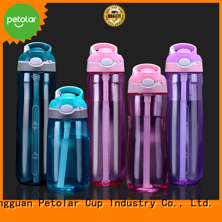 Petolar Wholesale personalized bpa free water bottles company for convenience