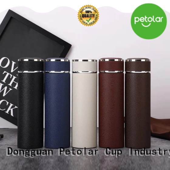 Latest insulated steel water bottle for business for safety