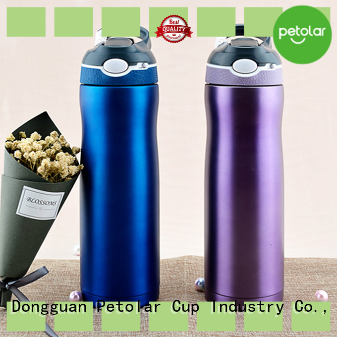 Petolar insulated sports bottle Supply for safety