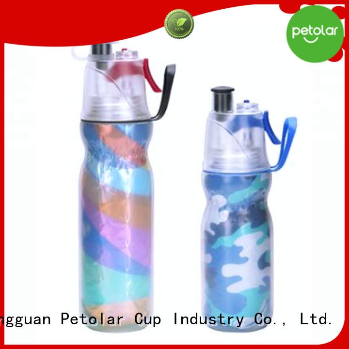 Petolar bpa free plastic water bottle company for sport